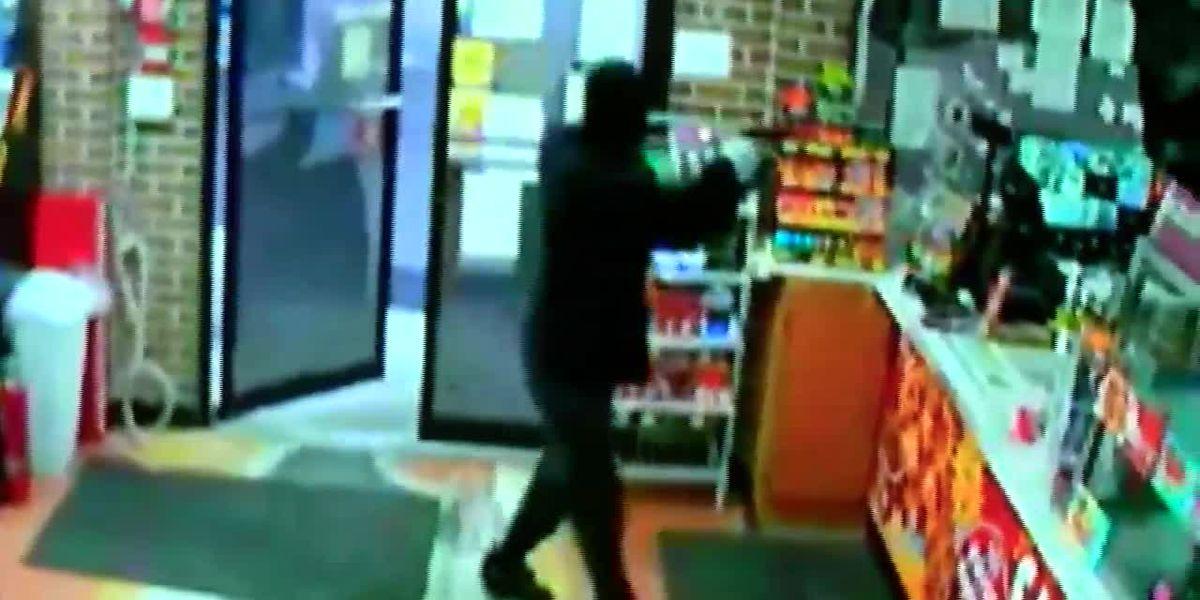 Video released of suspect in fatal shooting of store clerk
