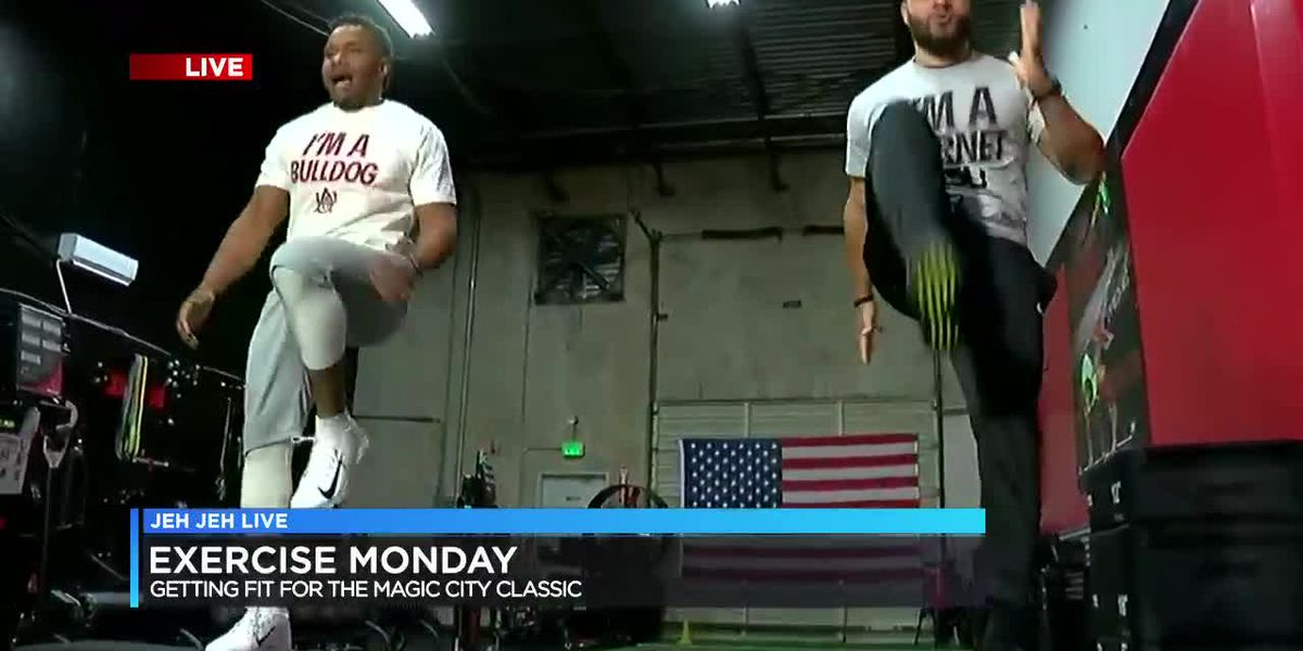 Exercise Monday: Getting fit for Magic City Classic (Part 2)