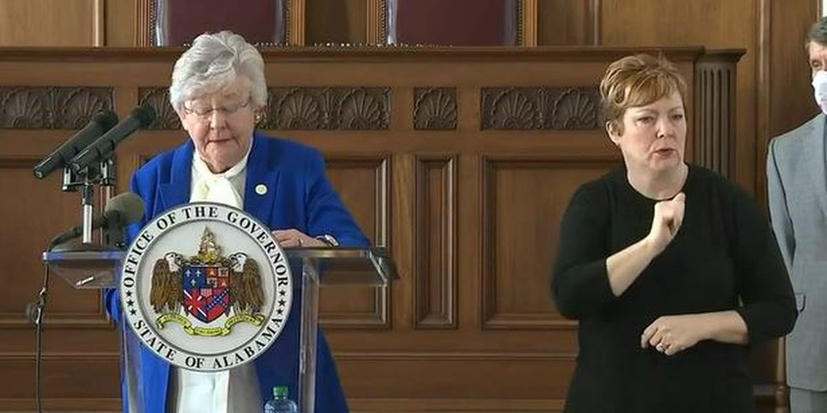 Gov. Ivey issues response to Alabama legislature's desire to control CARES funds