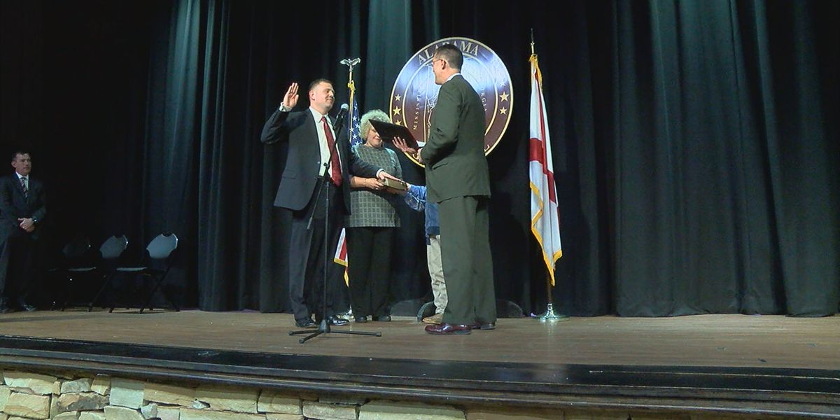 Cullman County Sheriff Matt Gentry sworn in for a second term