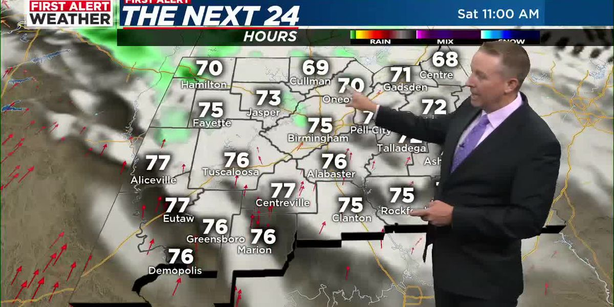 First Alert Weather: 5 p.m. update 5-7-21