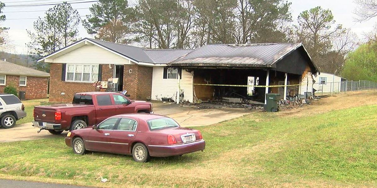 Calhoun County deputy credited with rescuing couple from burning home