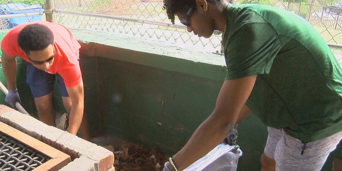 Willie Mays Park gets facelift as part of worldwide Serve Day
