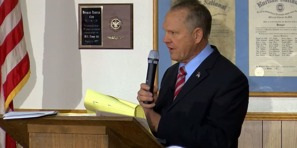 Moore campaign responds to report about course stating women shouldn't run for office