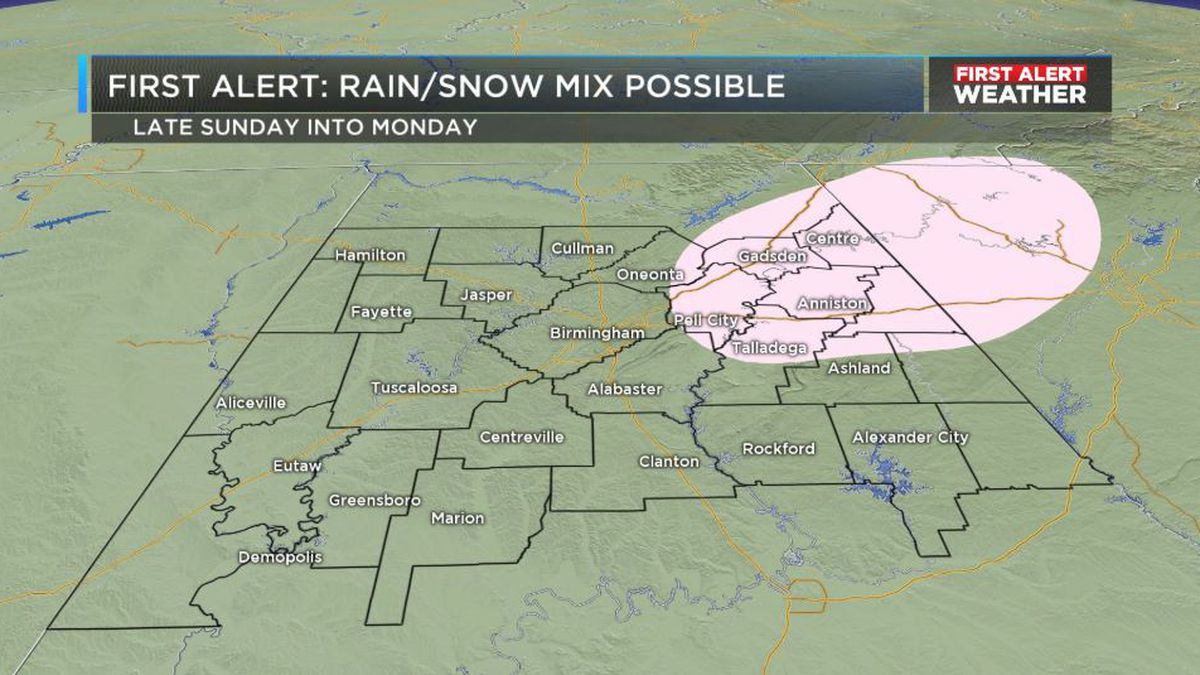 FIRST ALERT: Expect periods of heavy rainfall Saturday