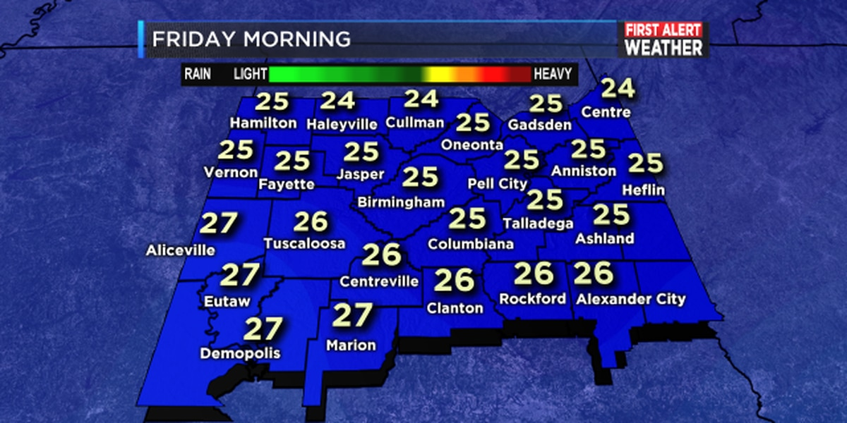 FIRST ALERT UPDATE: Get your home and family ready for extreme cold later this week