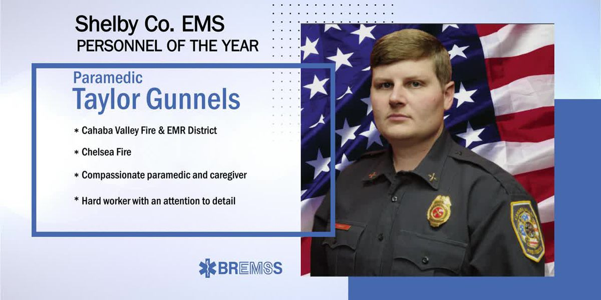 BREMSS Emergency Medical Personnel of the Year: Taylor Gunnels