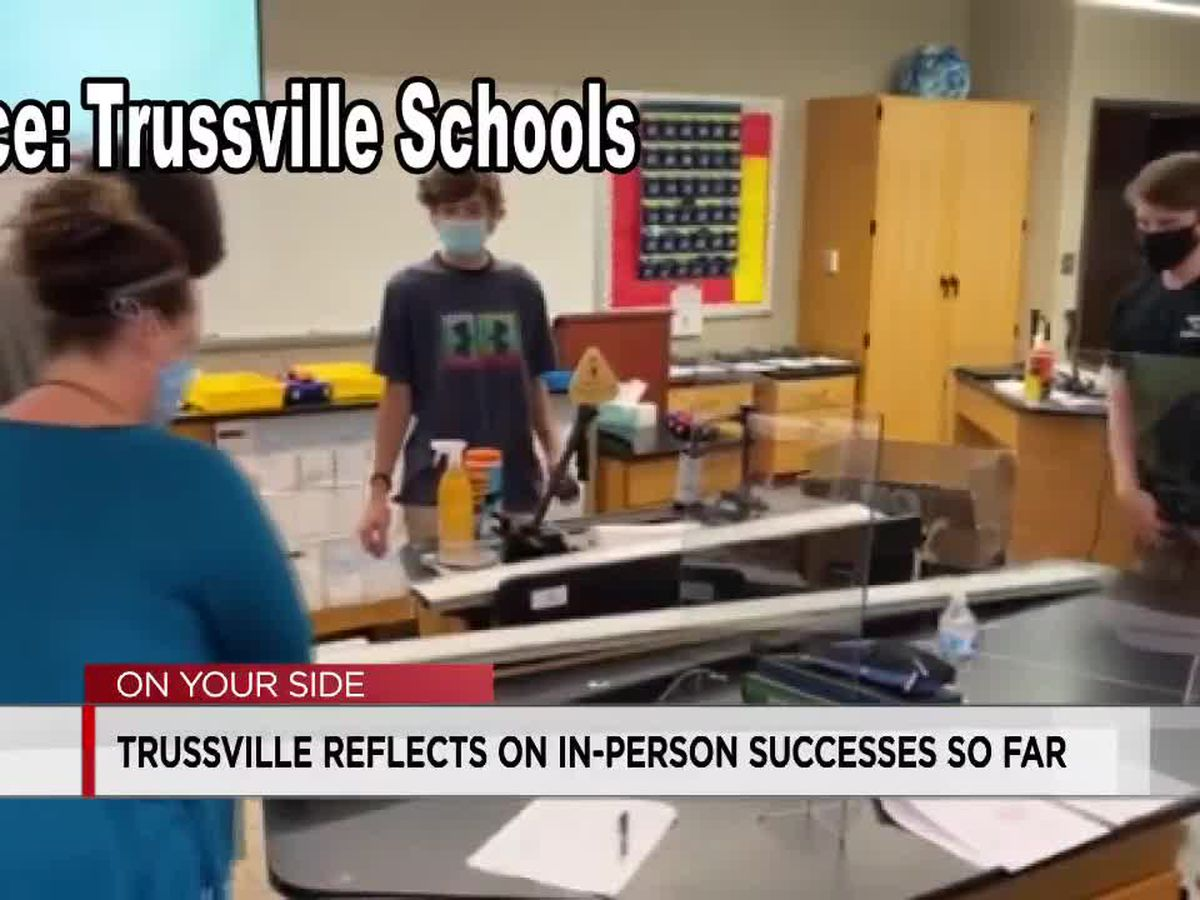 Trussville schools superintendent says district has been successful keeping COVID outbreaks out of classrooms
