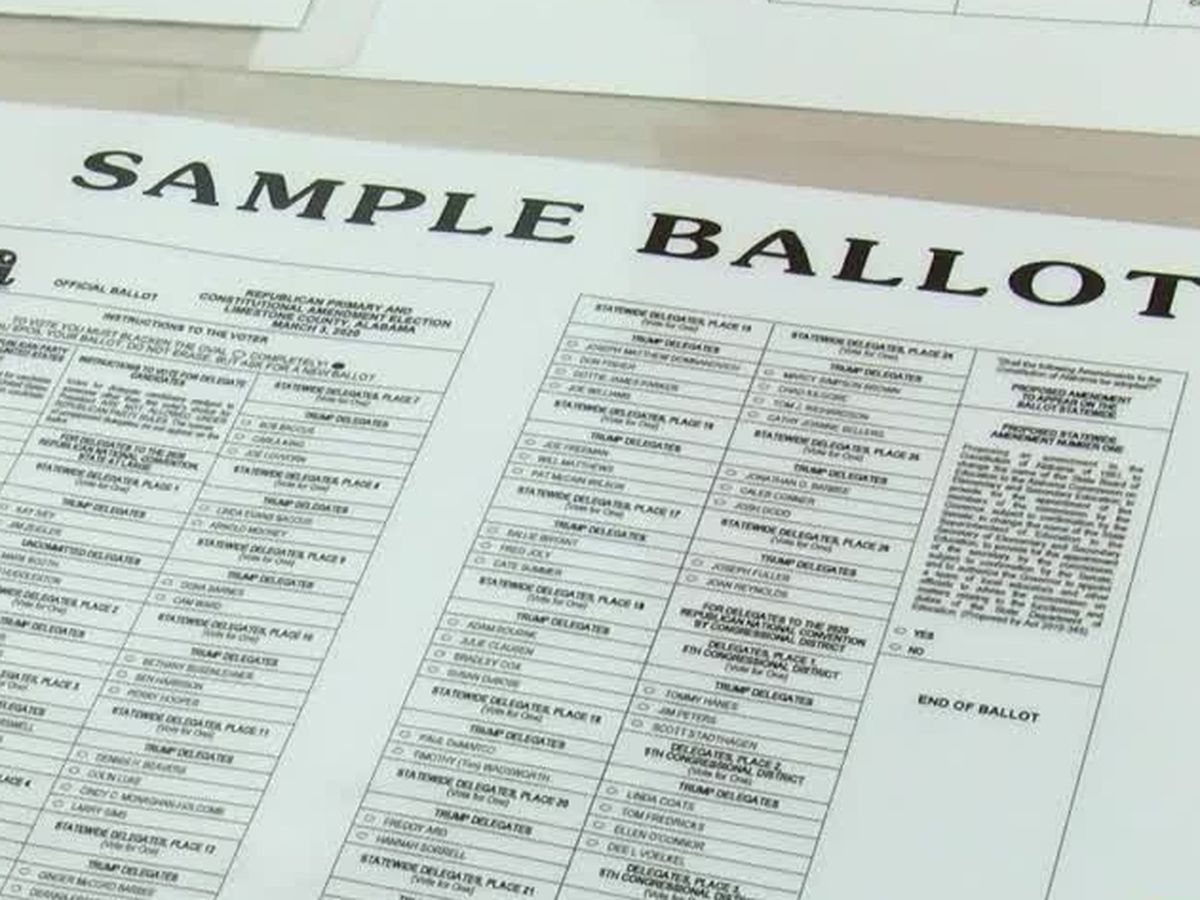 How to cast an Alabama absentee ballot for July 14 runoff