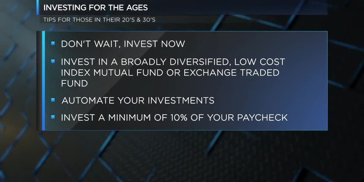 Tips for investing for all ages