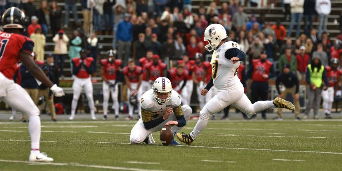 Chattanooga uses late Ulmo FG to upset Samford 23-21