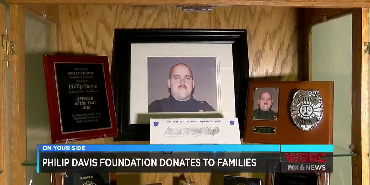Philip Davis Foundation donates to families