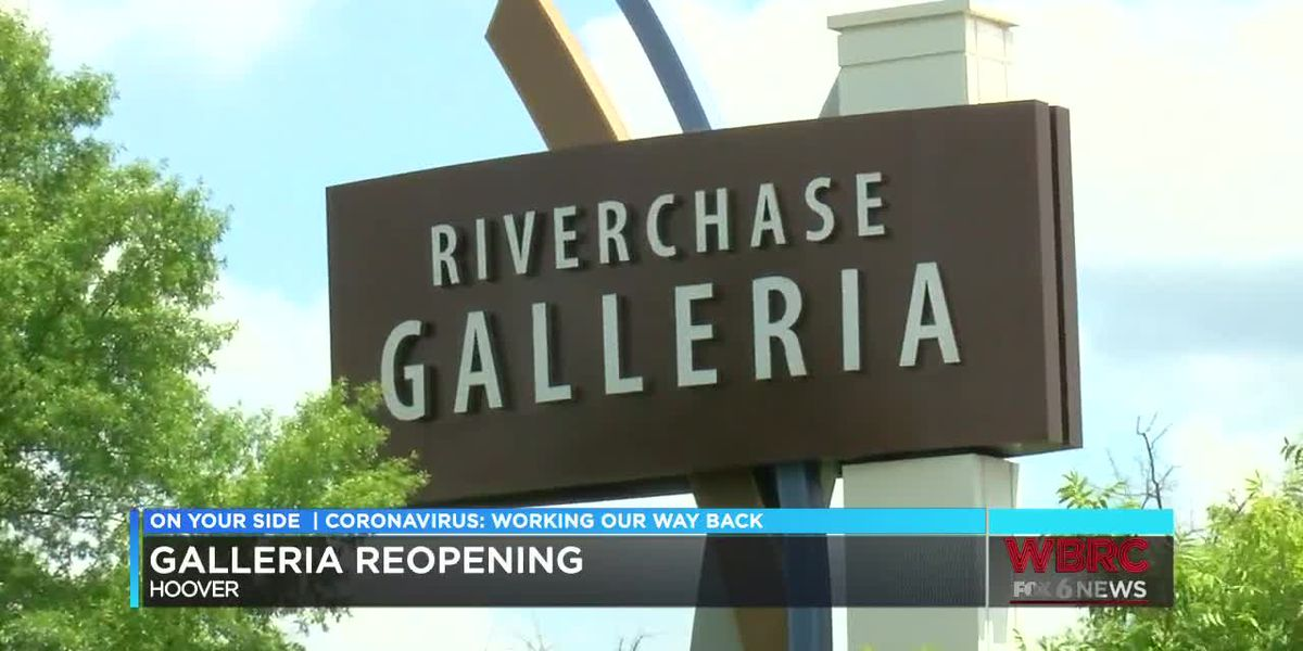 Riverchase Galleria reopens, managers take steps to keep shoppers safe