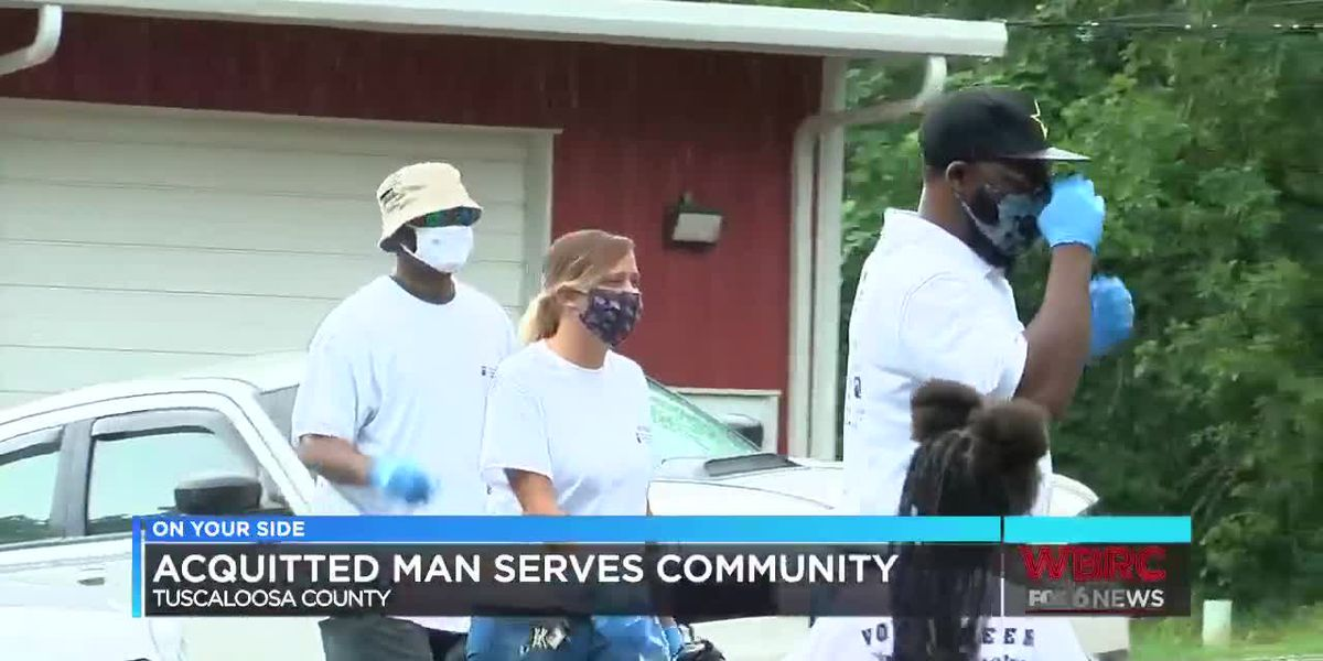 Man acquitted of a crime in Tuscaloosa Co. gives back