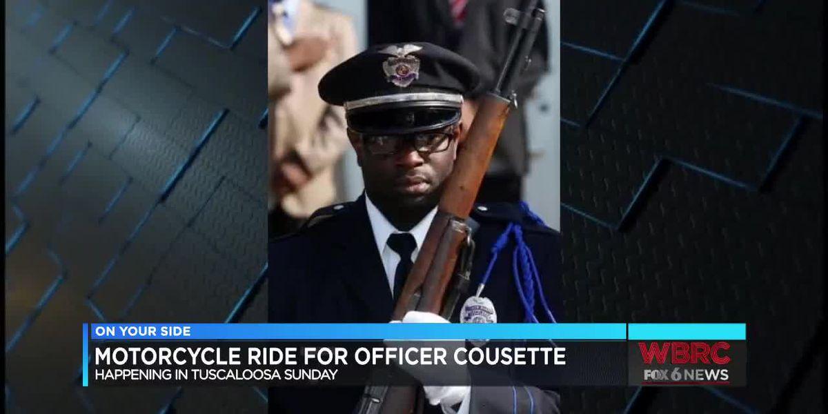 Motorcycle Ride For Officer Dornell Cousette