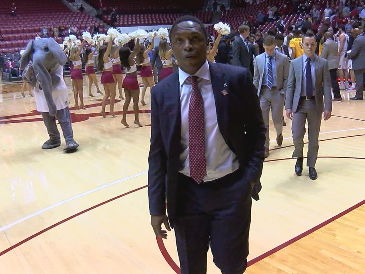 Avery Johnson committed to being Tide's coach after season-ending overtime loss in NIT
