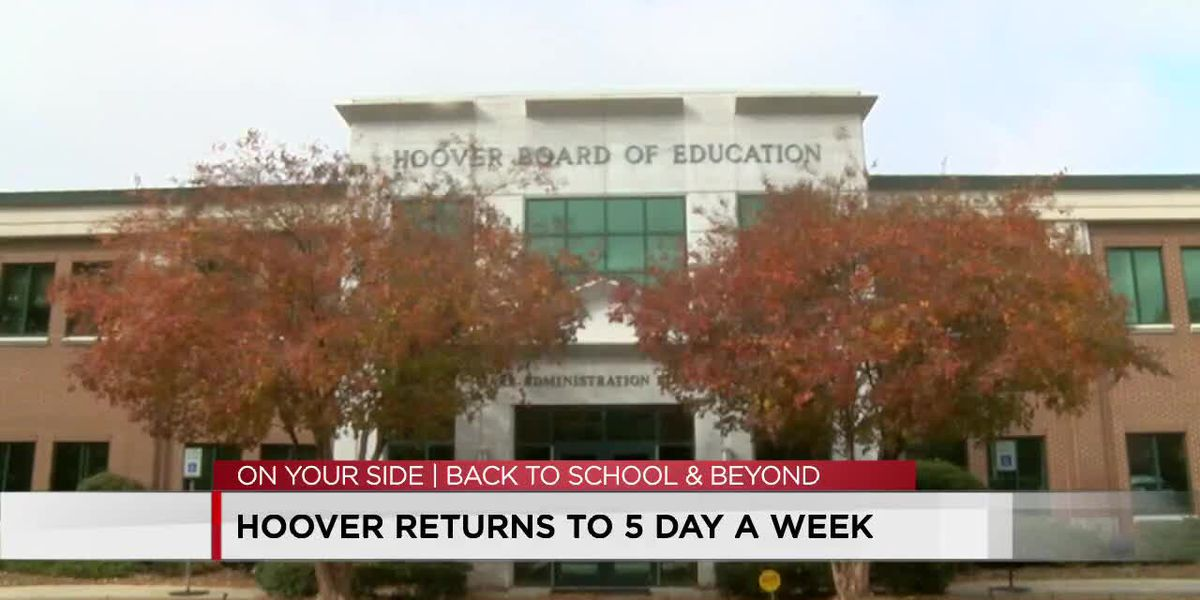 Hoover schools return to 5 days a week in-person