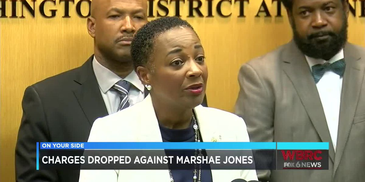 Charges dropped against Marshae Jones