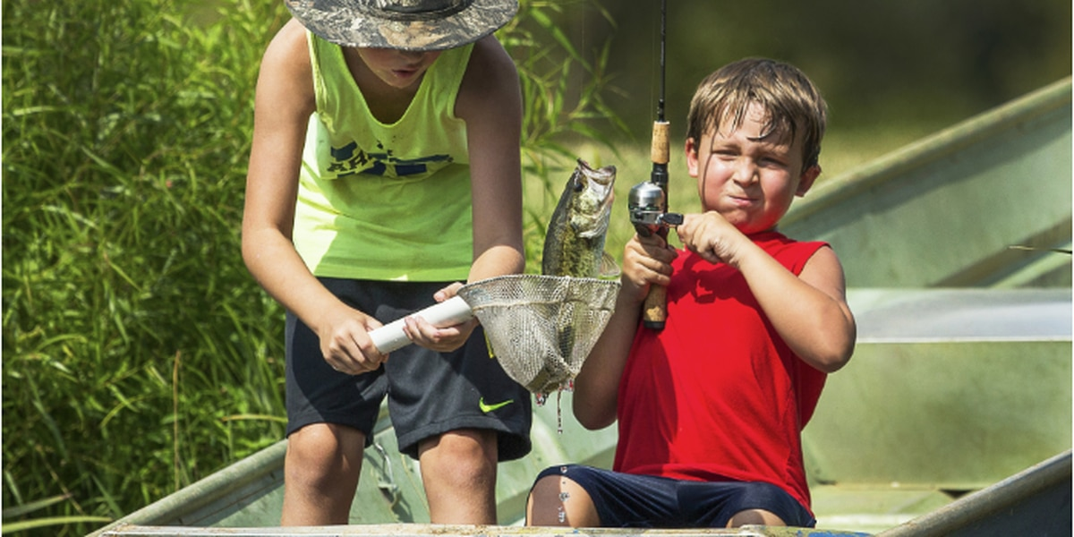Free fishing day on June 13