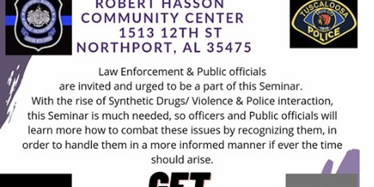 Northport synthetic drug seminar scheduled for Thursday
