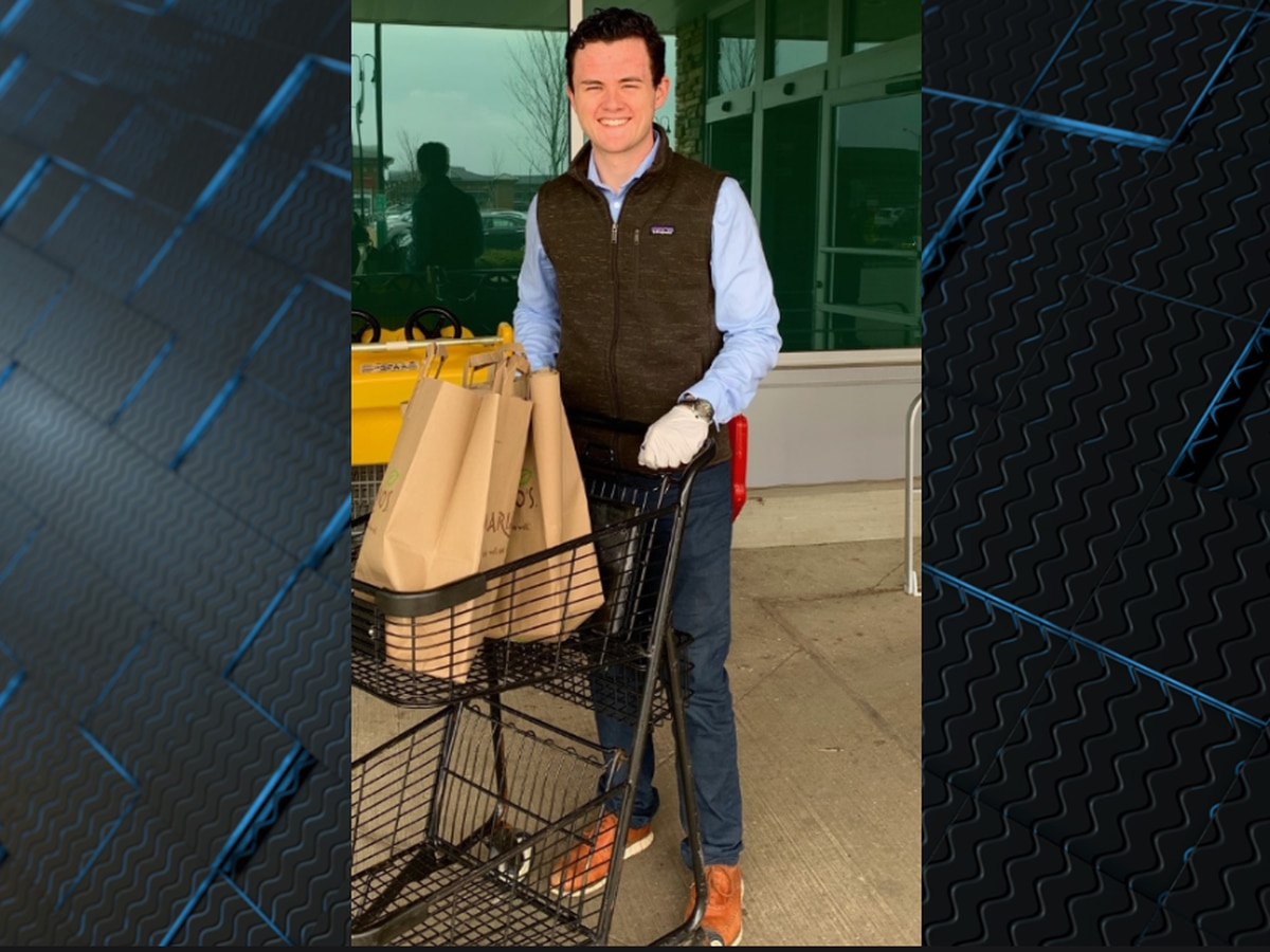 Alabama student launches free delivery service for senior citizens