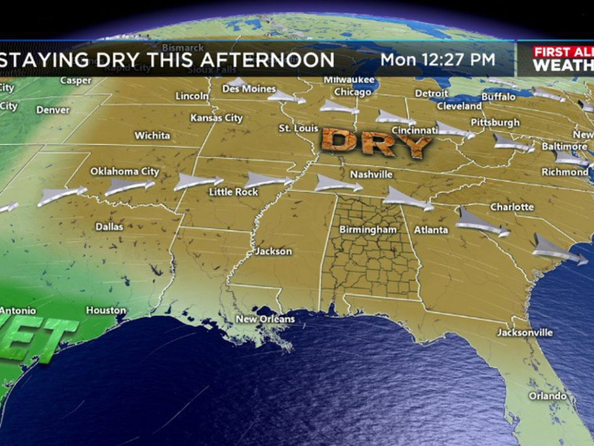 Cloudy & chilly start on Tuesday, First Alert for rainmaker on Thursday