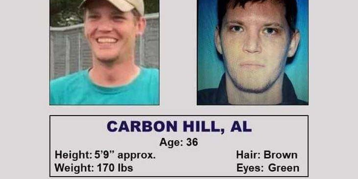 Police searching for Carbon Hill missing man