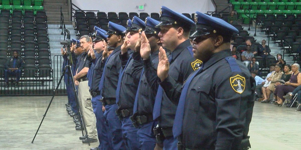 Birmingham Police Academy graduation highlights city's youth
