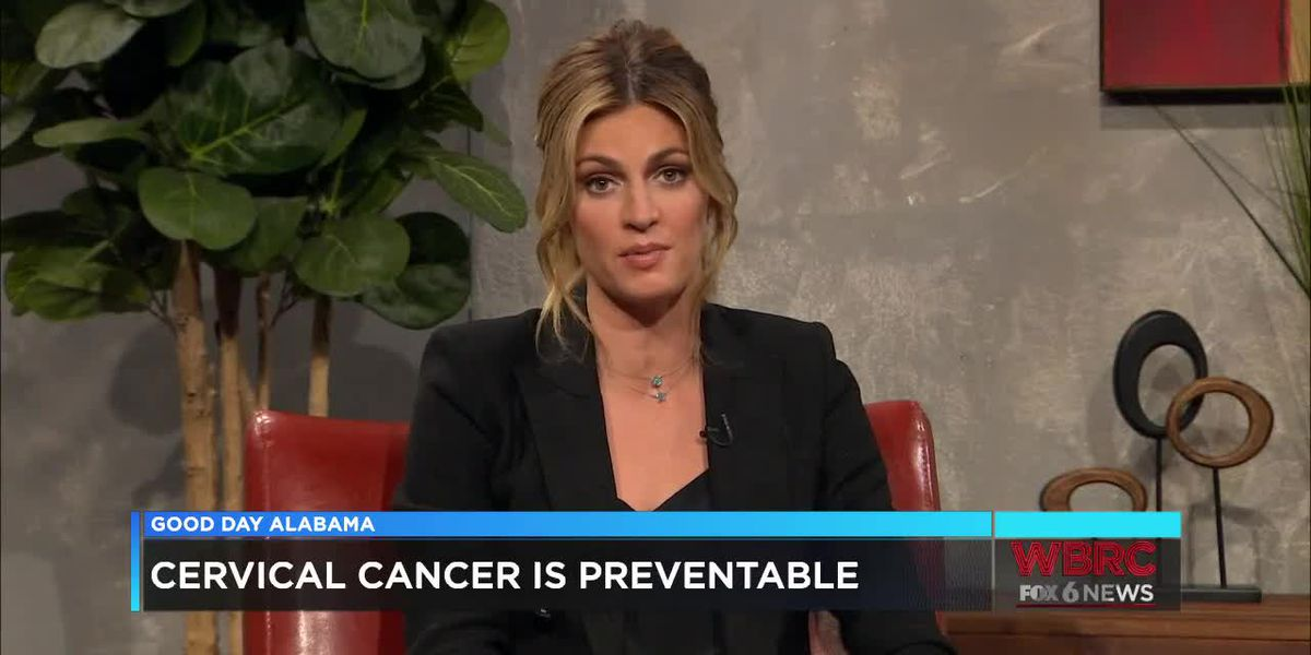 Erin Andrews on Cervical Cancer Awareness month
