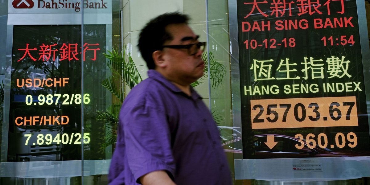 World stocks slip on China-US tensions, Brexit uncertainty