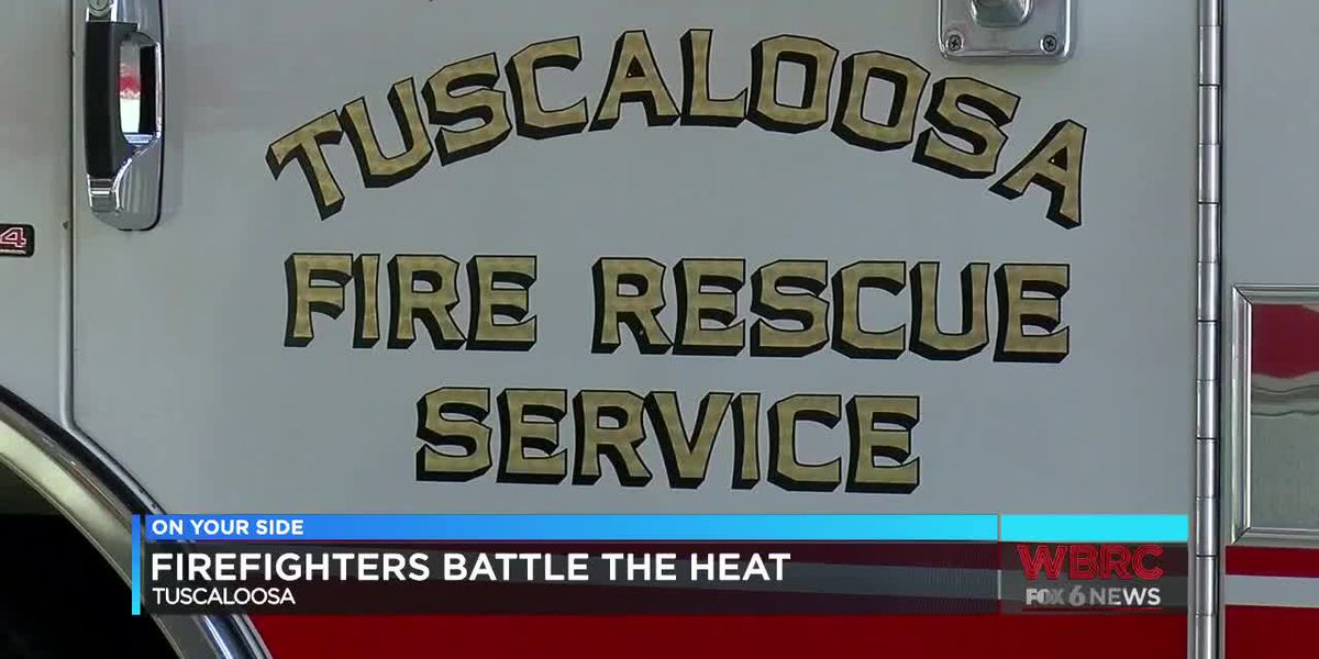 Tuscaloosa Fire Rescue responds to heat related illness calls