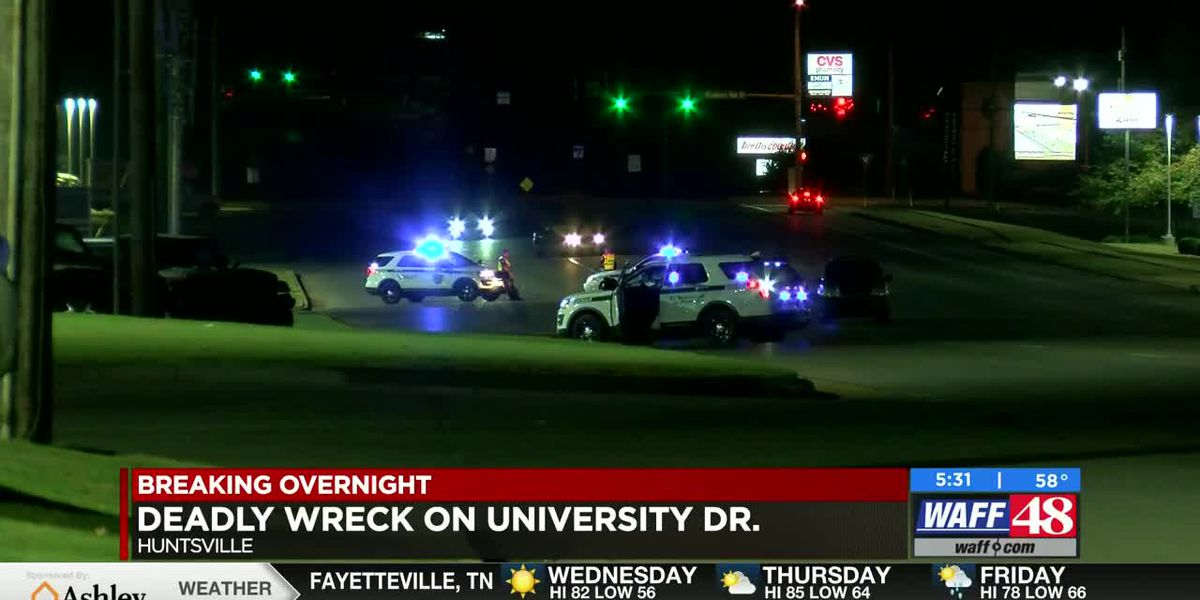 UPDATE: Driver identified in fatal crash on University Drive