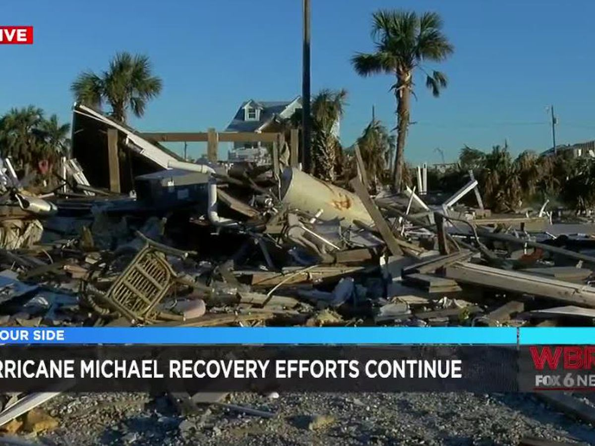 People continue to cope as chaos from Hurricane Michael continues