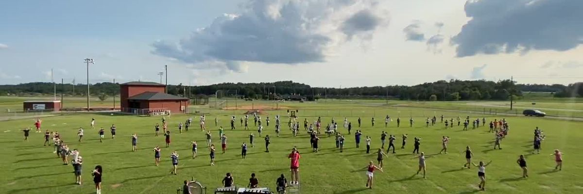 VIDEO; Tuscaloosa Co. H.S. Marching Band