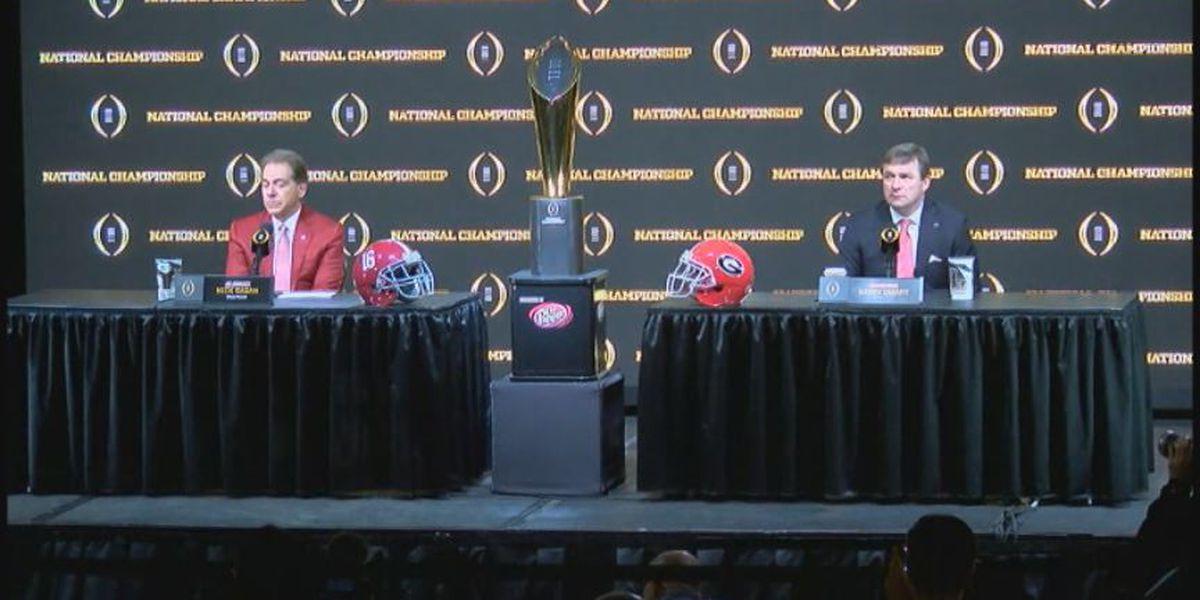 Alabama holds final walkthrough prior to National Championship Game