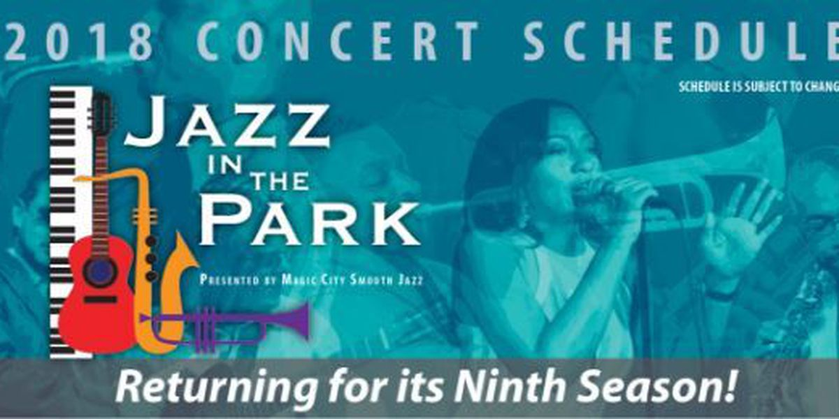 Jazz in the Park kicks off summer concert series Sunday at Avondale Park Amphitheatre