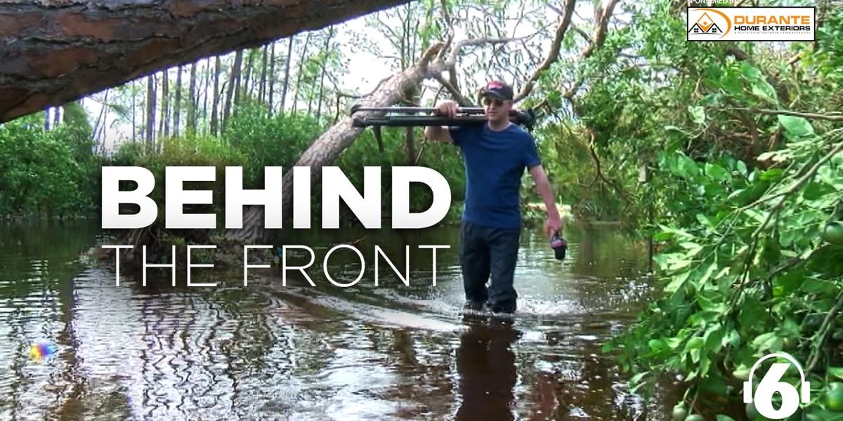Behind the Front: Josh Gauntt & Hurricane Coverage