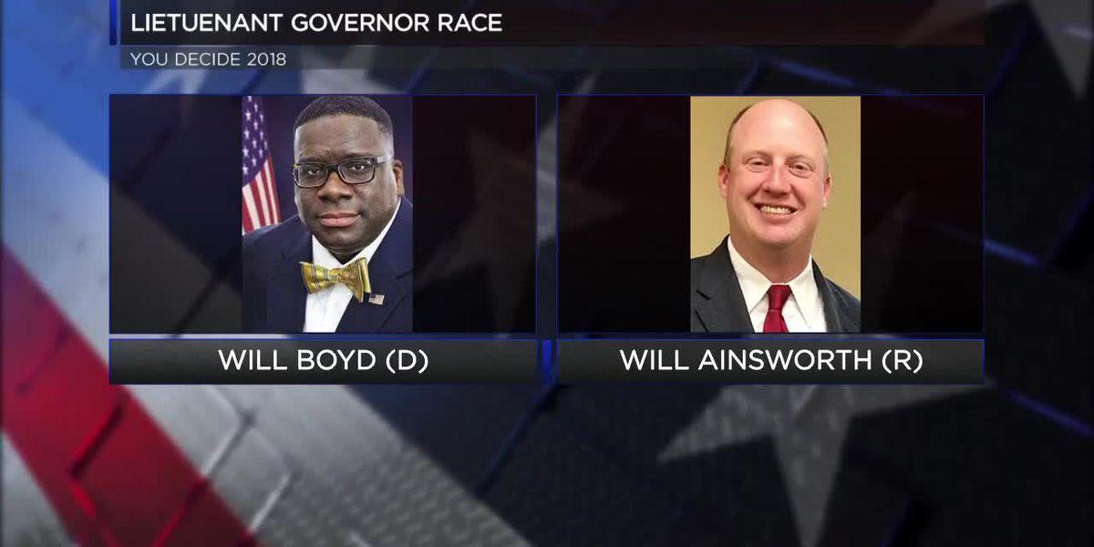 Lt. Governor Race: Will Boyd, Will Ainsworth