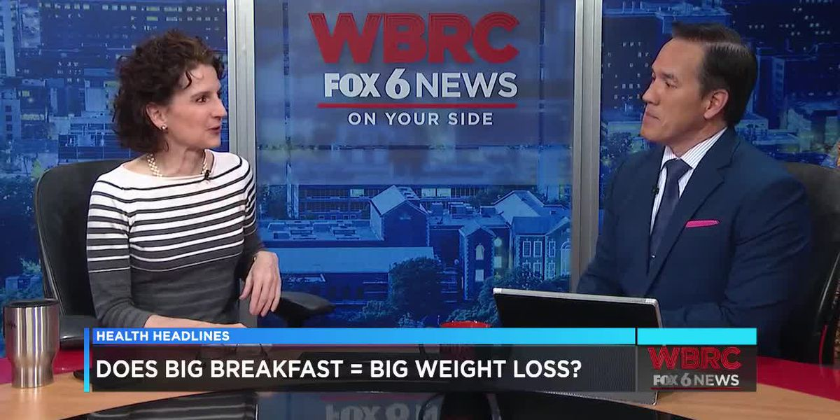 Does A Big Breakfast Mean Weight Loss