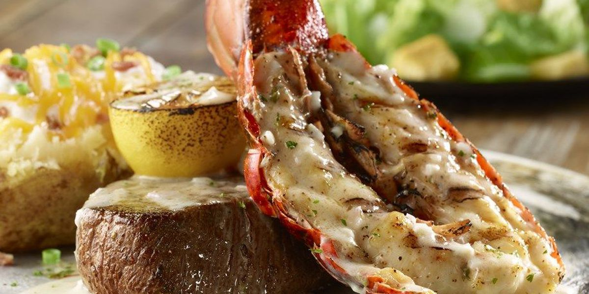 Flo's Filet and Citrus Grilled Lobster Tail