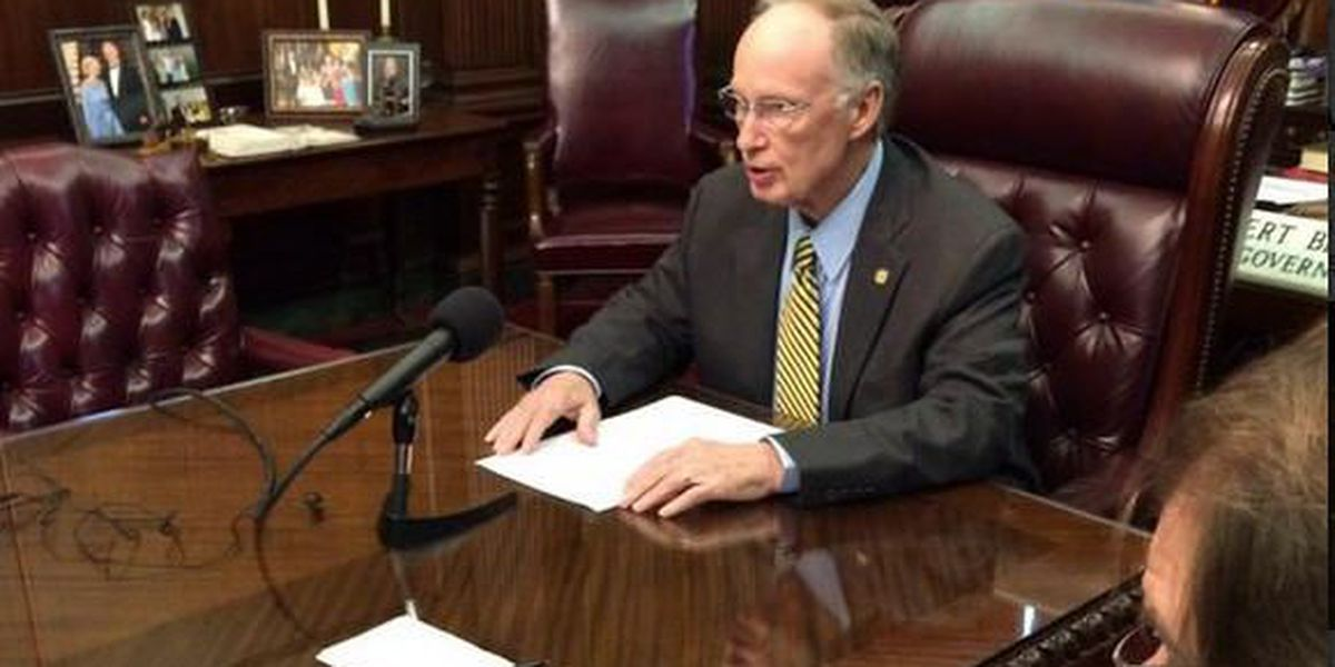 Terri is live at 5 a.m.with more on Gov. Bentley's visit to west Alabama