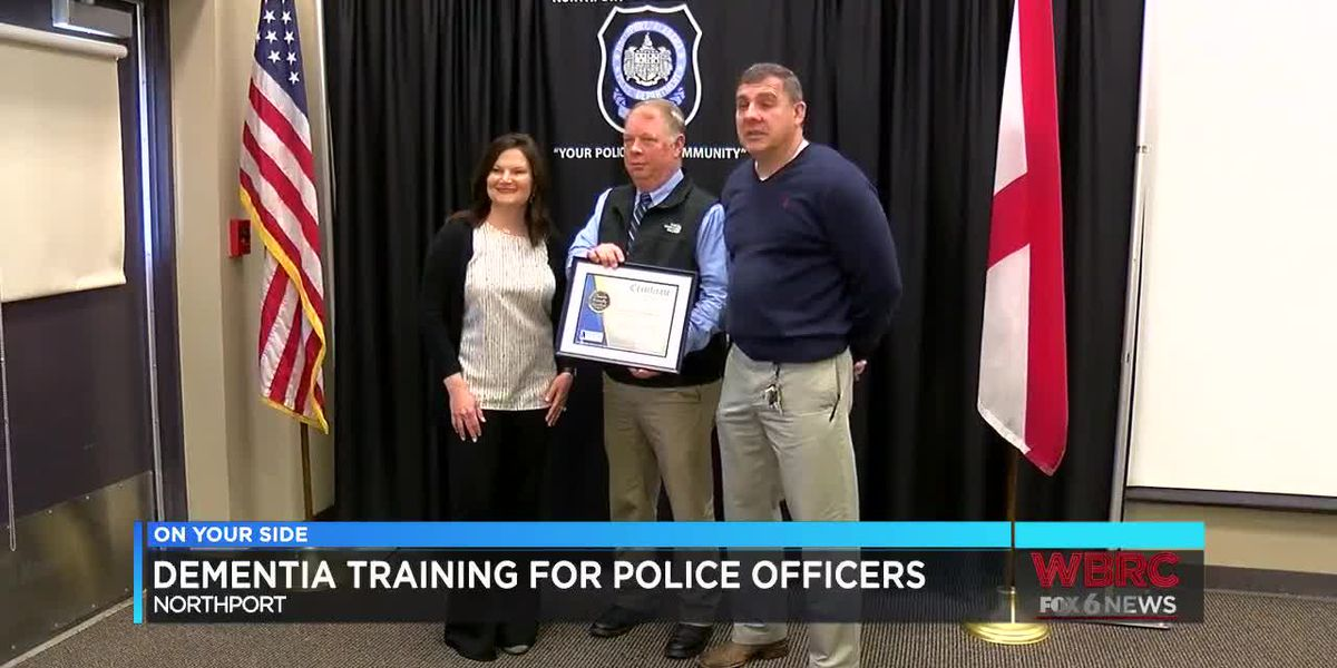 Dementia training for Northport police officers