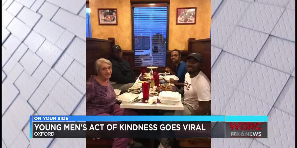 Young men's act of kindness in Oxford goes viral