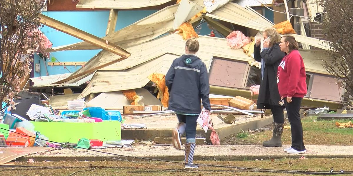 National Weather Service confirms EF-2 tornado hit Brindlee Mountain School