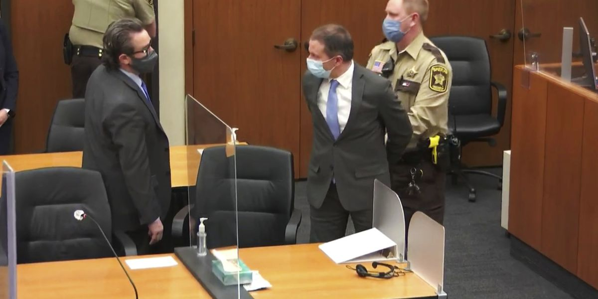 LIVE: Chauvin guilty of murder and manslaughter in Floyd's death