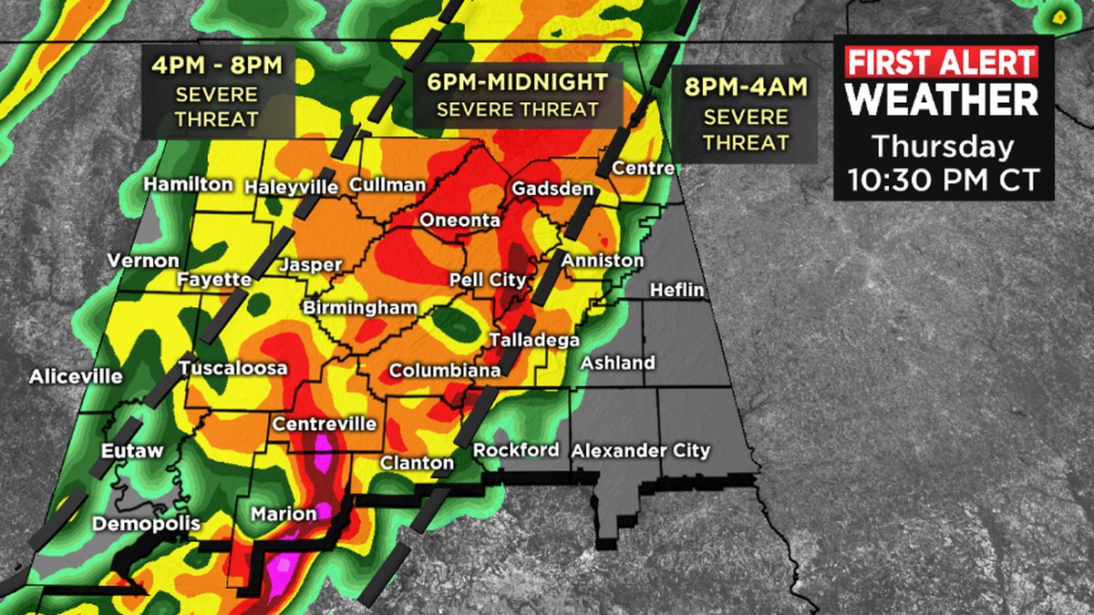 FIRST ALERT Weather Day declared for Thursday