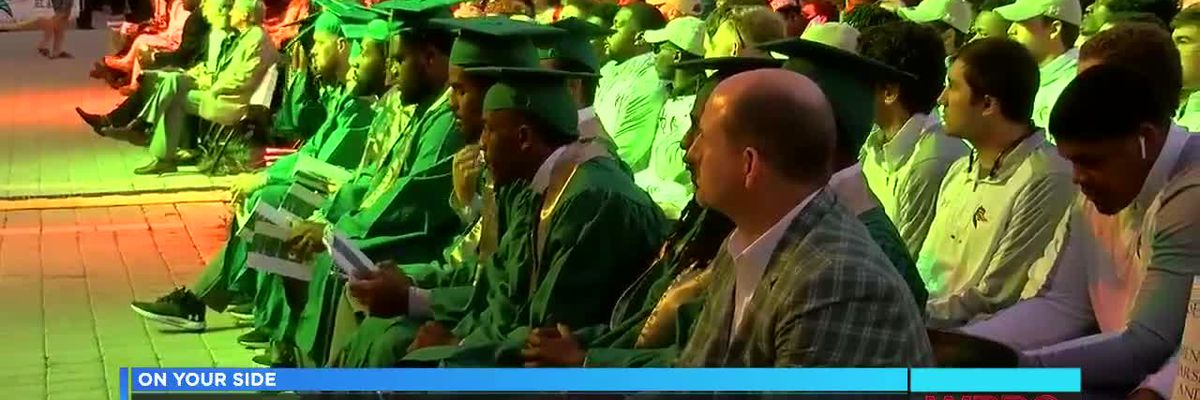 UAB holds special graduation ceremony in Boca Raton