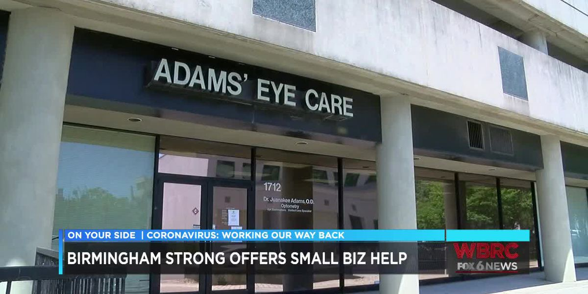 PPP loan helps keep Birmingham optometrist open during COVID-19 crisis