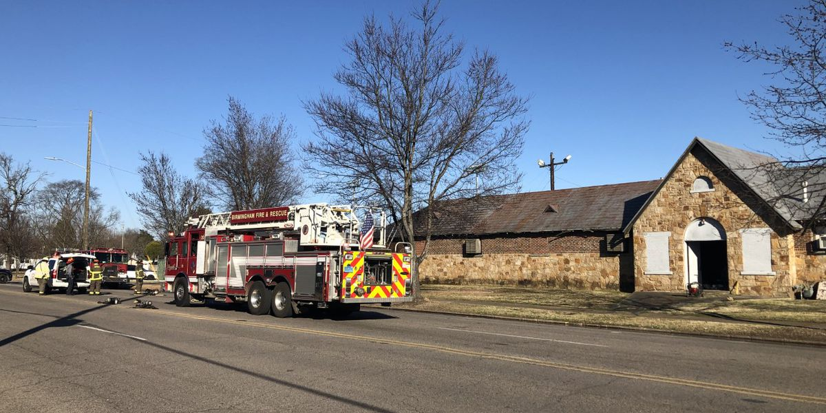Fire at city-owned building in Ensley