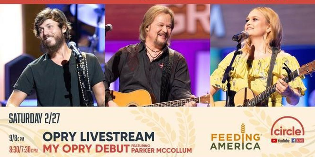 Feeding America from The Grand Ole Opry airing on WBRC FOX6 this Saturday
